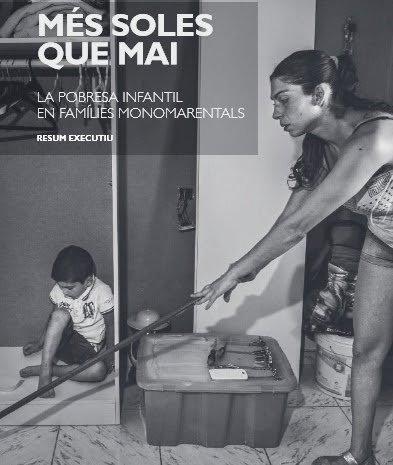 Pobreza infantil en familias monomarentales