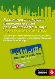 ayudas para niños barcelona