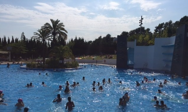 piscina hospitalet norte
