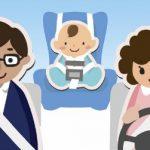 viatjar en seient del darrere