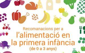 Recomendaciones alimentacion infantil