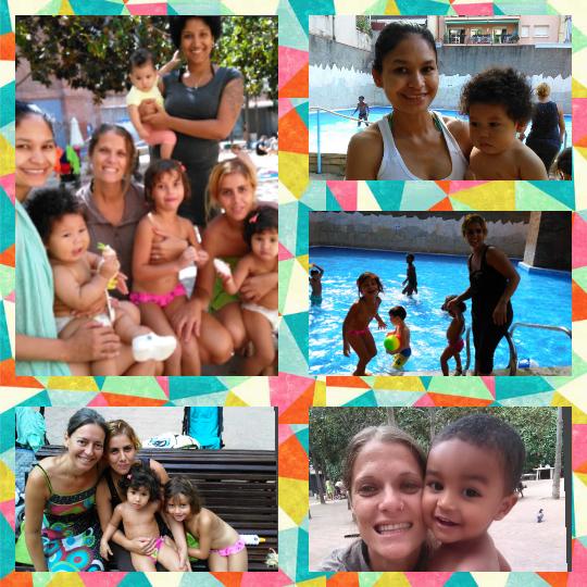 salida piscina madres adolescentes Preinfant