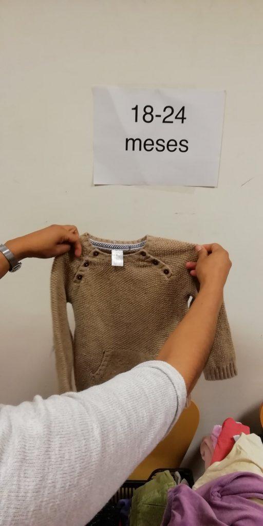 intercambios de ropa  madres adolescentes